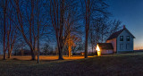 Lockmaster's House At Dawn P1100684-6