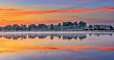 Misty Otter Creek At Sunrise P1120585-7