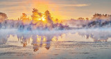 Misty Rideau Canal Sunrise P1130711-3