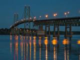 Ogdensburg-Prescott International Bridge At Night DSCF20761-3