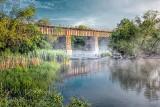 Railway Bridge In Mist P1130975-7