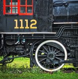 Steam Locomotive Wheel P1160290-2