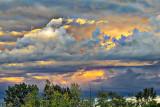 Evening Clouds DSCF4526
