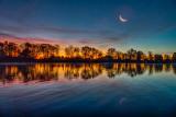Crescent Moon At Dawn P1200296-8
