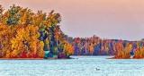 Big Rideau Lake In Autumn Sunrise DSCF4955