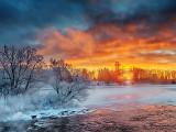 Freezing Rideau Canal Sunrise P1240012-4