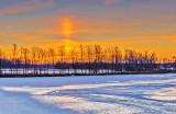 Sunrise Solar Pillar P1240234-6