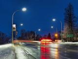 Beckwith Street Bridge At First Light P1240399-401
