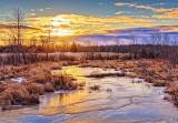 Winter Hutton Creek Sunrise 48115-20
