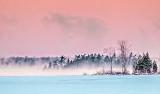 Wintry Big Rideau Lake At Sunrise P1240803-5