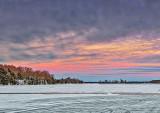 Wintry Big Rideau Lake At Sunrise DSCF5692