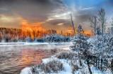 Frosty Rideau Waterway Sunrise P1010853-7