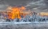 Frosty Rideau Waterway Sunrise P1010878-82