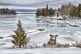 Frozen Lower Rideau Lake P1020255-7