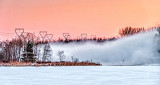 Open Water Fog At Sunrise P1020482-4