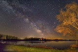 Milky Way Over The Rideau River 48297-9