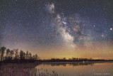 Milky Way Over Irish Creek P1060253