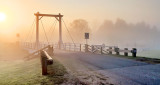 Kilmarnock Bridge In Foggy Sunrise P1060632-7