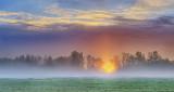 Sunrise In Ground Fog P1070386-8