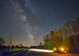 Milky Way Over The Road 48461
