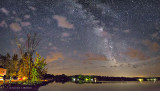 Milky Way Over Upper Rideau Lake 48595-7
