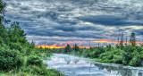 Irish Creek In Clouded Sunrise P1090053-5