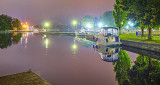 Canal Basin At Night 48833-6