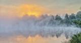 Rideau Canal Fogged Sunrise P1110759-63