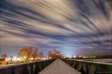 Railway Bridge At Night P1160710