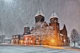 Trinity United Church In Snowstorm P1160750-2