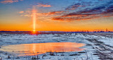 Sunrise Solar Pillar P1170370-4