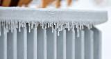 Icy Porch Railing P1170425