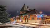 Railway Museum At Night P1170439-43