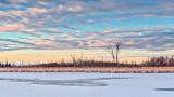 Frozen Swale At Sunrise P1170639-41