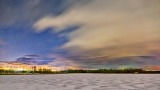 Winter Irish Creek At Night P1170748