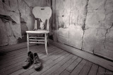 Miner's Boots and Chair