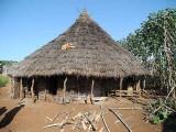 Mao hut in Shigogo-Gedashola. Ethiopia.