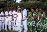 An Oromo wedding.  Ethiopia.