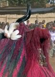 « FESTIMA, Festival des Masques », Zangbeto mask from Benin with chicken