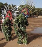« FESTIMA, Festival des Masques », dancers from Bagassi,  Burkina Faso