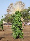 « FESTIMA, Festival des Masques », dancer from Dédougou,  Burkina Faso