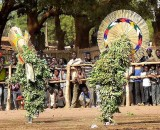 « FESTIMA, Festival des Masques », dancers from Dédougou,  Burkina Faso
