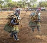 « FESTIMA, Festival des Masques », dancers from Diapaga,  Burkina Faso