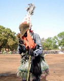 « FESTIMA, Festival des Masques », dancer from Diapaga,  Burkina Faso