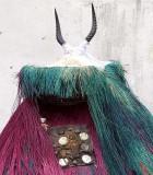 « Festival des 18 Montagnes de Man », Côte d'Ivoire. Zangbeto mask from Benin