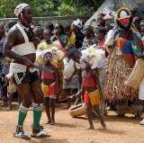 « Festival des 18 Montagnes de Man », Côte d'Ivoire. Simbo mask, Dan-Yacouba tribe, Côte d'Ivoire