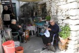 Old ladies in Crete, Greece