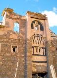 Maison traditionelle détruite; Vallée des Amandiers/ Vallée des Ameln, Maroc