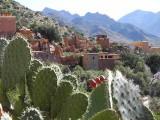 Village dans la Vallée des Amandiers/ Vallée des Ameln, Maroc