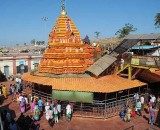 Yellamma Temple at Saundatti, Karnataka, India